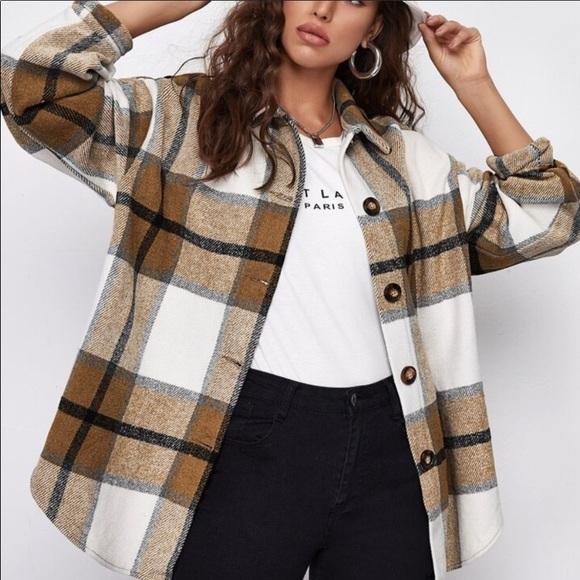 🤎SALE🌺🌺Flannel Jacket